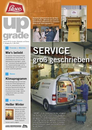 SERVICE grade - Lasco Umformtechnik GmbH