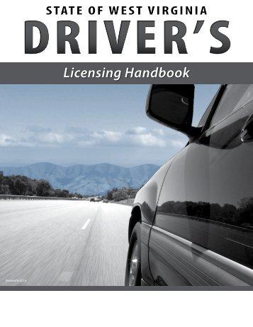 WV Driver Handbook - West Virginia Department of Transportation ...