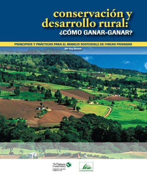 Conservacion y Desarrollo Rural FINAL - CEDAF