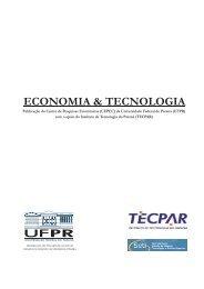 Informações do Volume - Revista Economia & Tecnologia ...