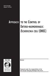 ILSI EHEC for pdf - ILSI Argentina