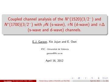 Eugenio Javier Garzon - QNP2012