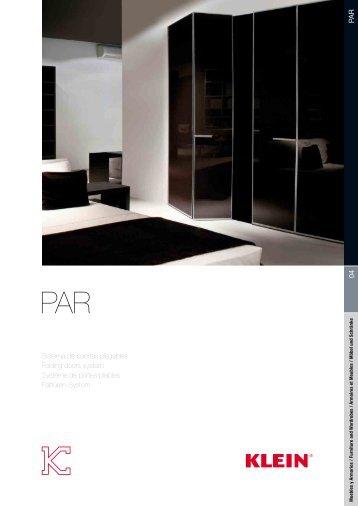 04 PA R Sistema de puertas plegables Folding doors system ...