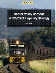 2012-21 Hunter Valley Corridor Capacity Strategy - Australian Rail ...