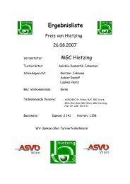 Preis von Hietzing (Linienamtsgasse – 26. 8. 2007)