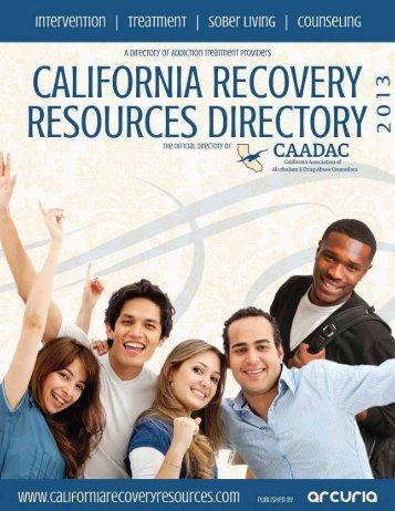 Summer 2011 Directory - Arcuria California Recovery Resources