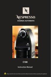 C100 - Nespresso