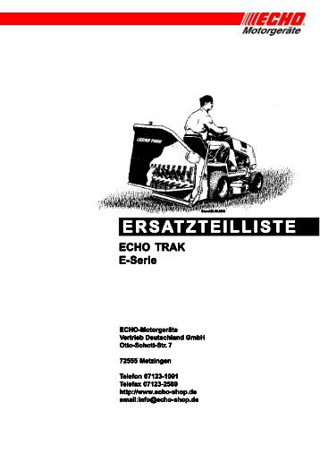 Ersatzteilliste E-Serie - Gartentechnik-Bremen