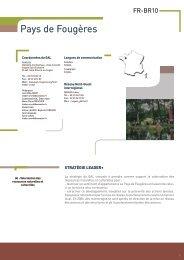 Pays de Fougères - Réseau Leader