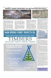 warm springs forest products ind. - Miller Publishing Corporation