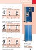 Schließfachschränke S 4000 mit 1-6 Fächern übereinander - Page 4