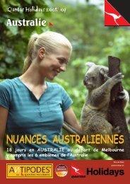 NUANCES AUSTRALIENNES - Antipodes
