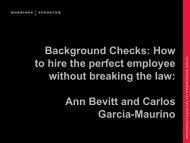 Background Checks - International Association of Privacy ...