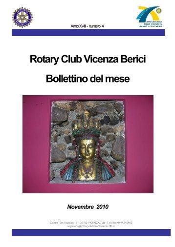 Relazione contemporanea - Rotary International Distretto 2060