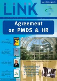 LINK Magazine Issue 39 - Department of Public Expenditure and ...