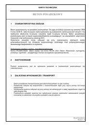 Karta Techniczna Beton Posadzkowy - Lafarge