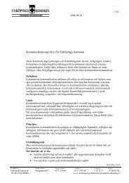 Kommunikationspolicy - Enköping