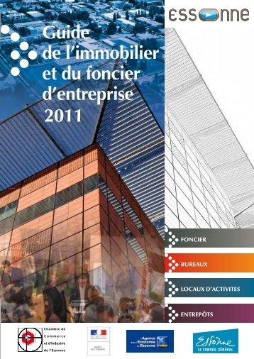 Guide Immobilier 2011 - Agence pour l'économie en Essonne
