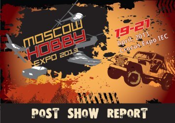 Summing up of the exhibition Moscow Hobby Expo 2013