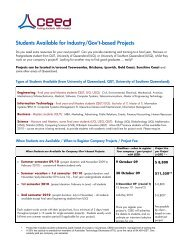 please click here to view CEED's flyer