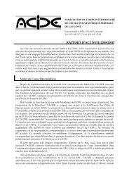 Rapport d'activité - Acide - EPFL