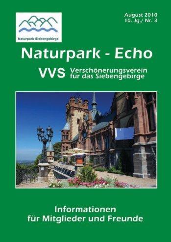 Naturpark-Echo 3/2010 - Naturpark Siebengebirge