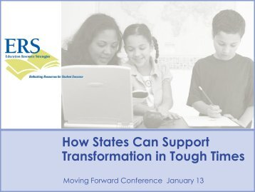 Education Resource Strategies Presentation - CCSSO Annual ...