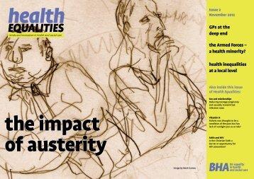 Impact of Austerity - BHA