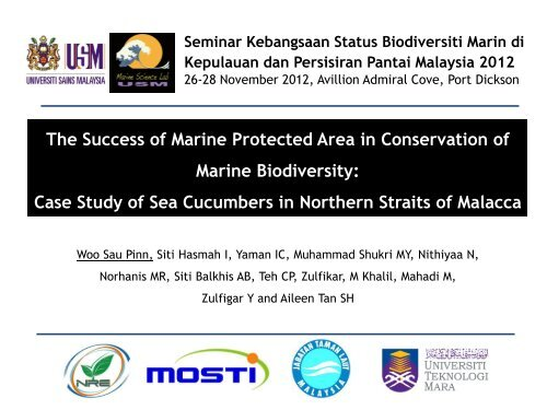 The Success of Marine Protected Area in Conservation of Marine ...