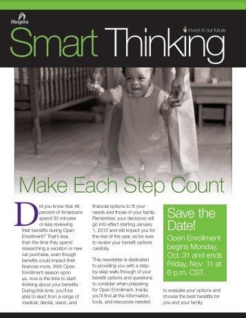 Make Each Step Count - Hospira