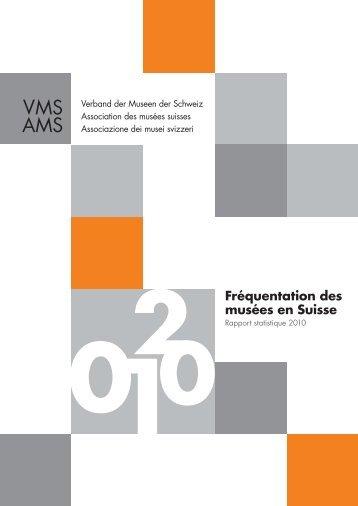 Fréquentation des musées en Suisse - EGMUS