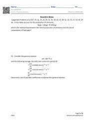 Ch 12 - AP Chemistry