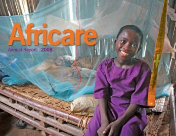 Annual Report 2008 - Africare