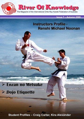 Issue 8 - March 2009 - International Chito-Ryu Karate-do Federation ...
