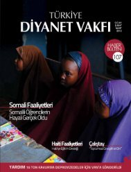Demirhan DİNÇ - Türkiye Diyanet Vakfı