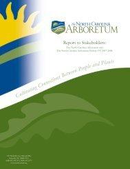North Carolina Arb Annual09.pdf - American Public Gardens ...