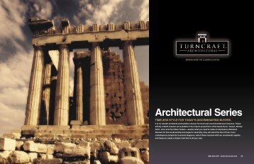 Architectural Series - Turncraft