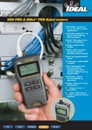VDV PRO & IENet™ PRO Kabel testere - Farnell