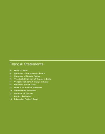 Financial Statements - Scomi Energy & Logistics Engineering