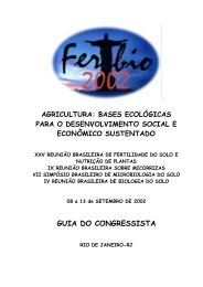 GUIA DO CONGRESSISTA - Instituto de Agronomia - UFRRJ