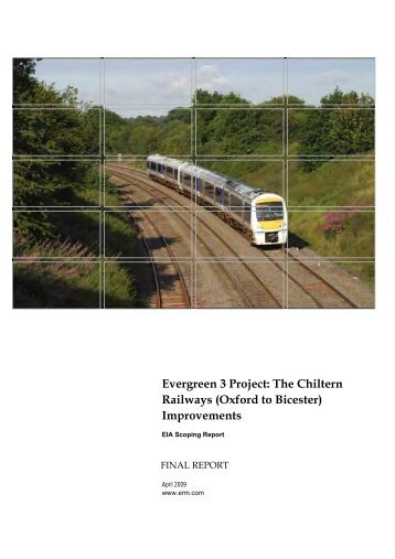 Evergreen 3 Scoping Report - Chiltern Evergreen3