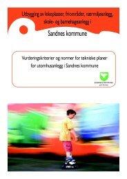 Norm for - Sandnes Kommune