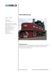 NEUE AARGAUER BANK - Dampfschiff