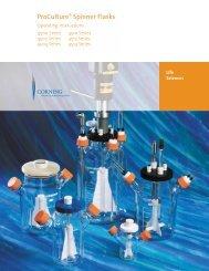 ProCulture® Spinner Flasks - Operating Instructions