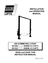 Ammco S21SS - NY Tech Supply