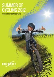 Summer of cycling 2012 - Hutt City Council