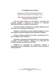 Ley Ambiental del Estado de Nuevo León - de Transparencia