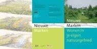 Nieuwe Marken - Wonen in je eigen natuurgebied - Stroming