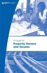 A Guide for Property Owners and Tenants - Virginia Department of ...