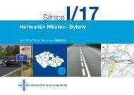 Silnice I/17 Heřmanův Městec-Bylany - Ředitelství silnic a dálnic